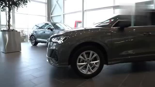 视频:奥迪Q335TFSI实车展示,打开车门看到