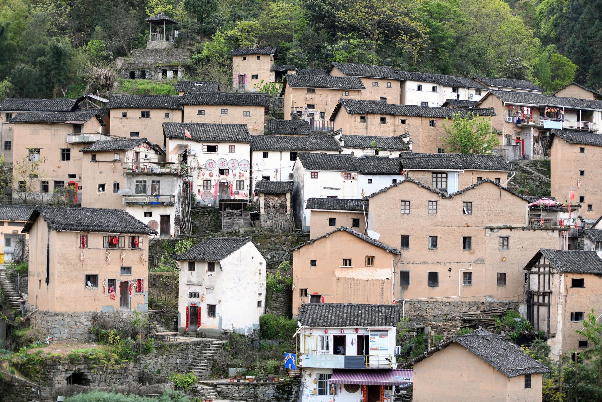 安徽歙县:周末游阳产土楼,体验山村生活,寻找乡愁和过去的记忆