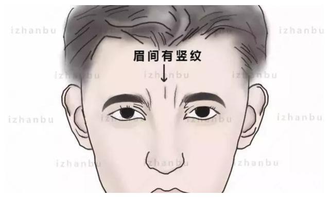 两眉之间有竖纹的面相好不好?