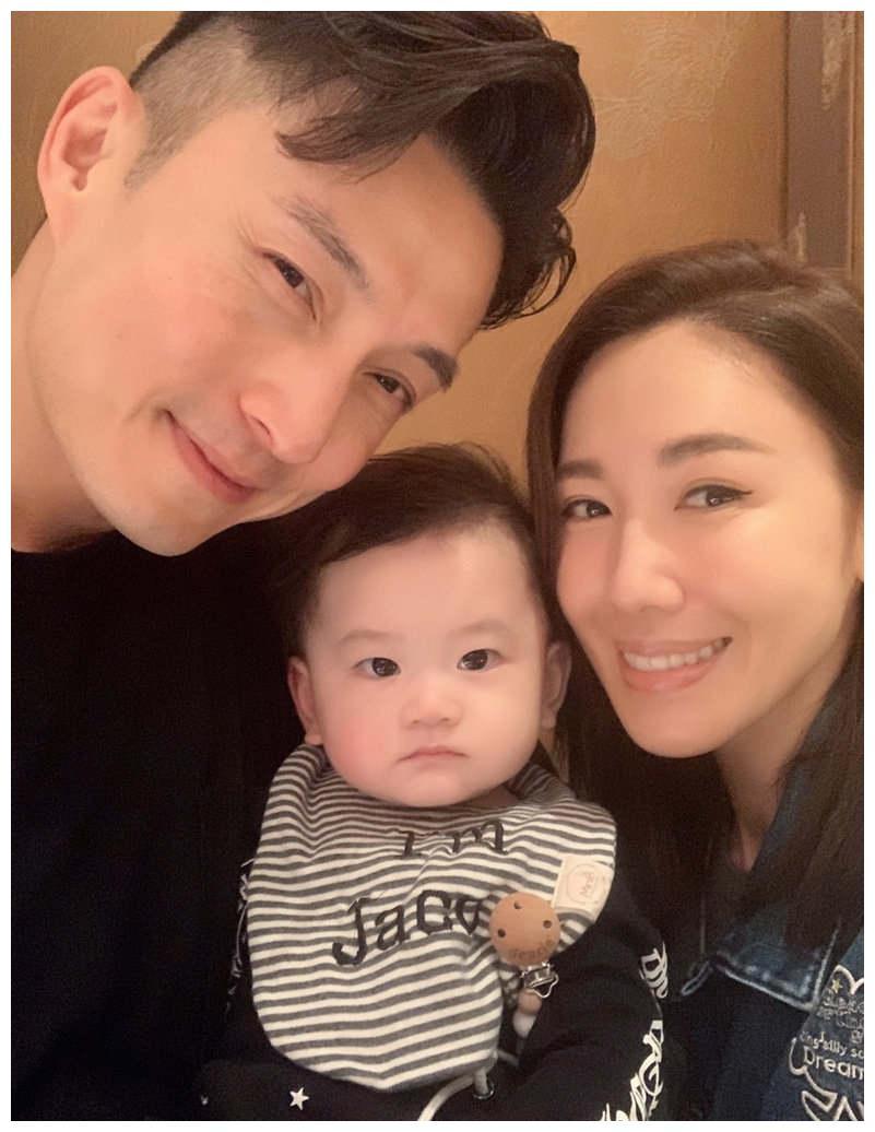 TVB花旦李施嬅晒与陈山聪父子合照,网友称:像极了一家三口