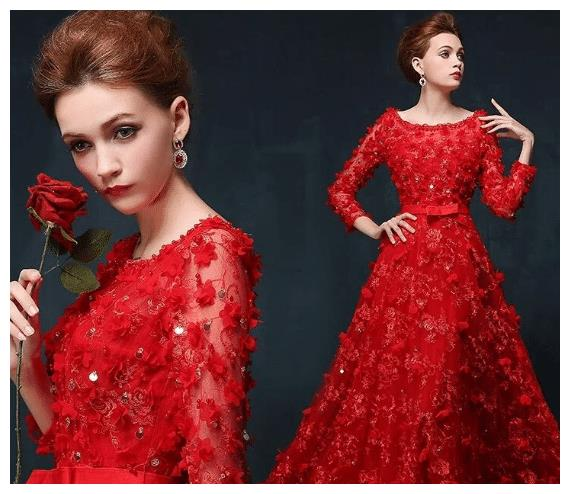 心理测试:你最喜欢下面哪款红色礼服?测你在男人眼中是什么档次