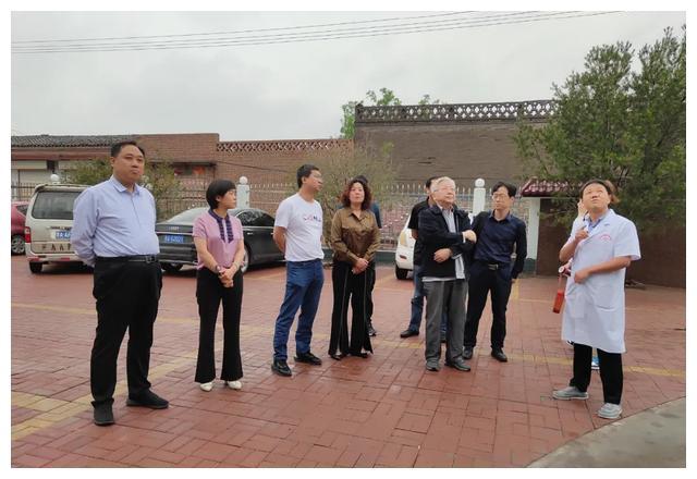 智慧医疗 赋能基层——中国预防性病艾滋病基金会在文水县调研