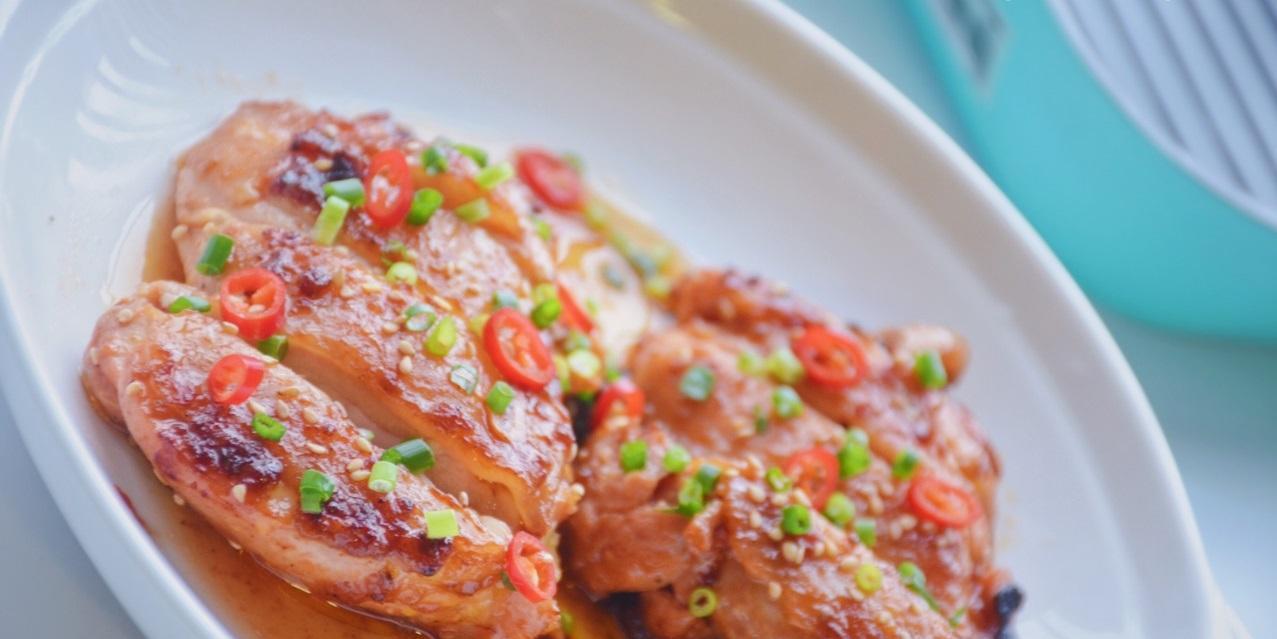 比鸡胸肉好吃百倍,减肥也能吃的香煎鸡腿排,酸甜浓香,好吃不贵