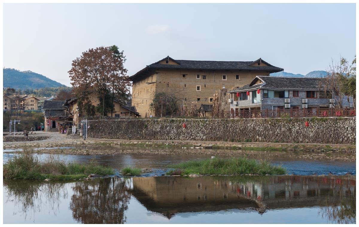 福建云水谣,因拍摄电影而改名,还保留了几十座土楼
