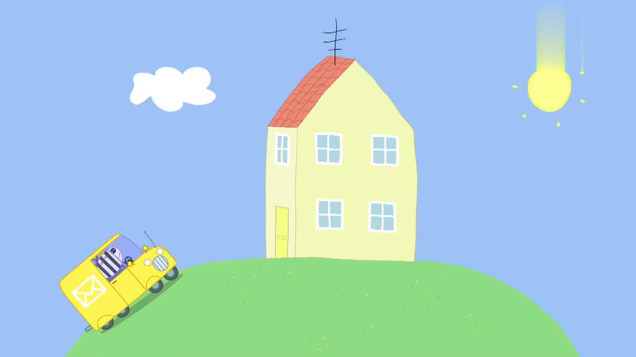 小猪佩奇:爱德蒙的派对,只邀请了乔治,可把佩奇气坏了!
