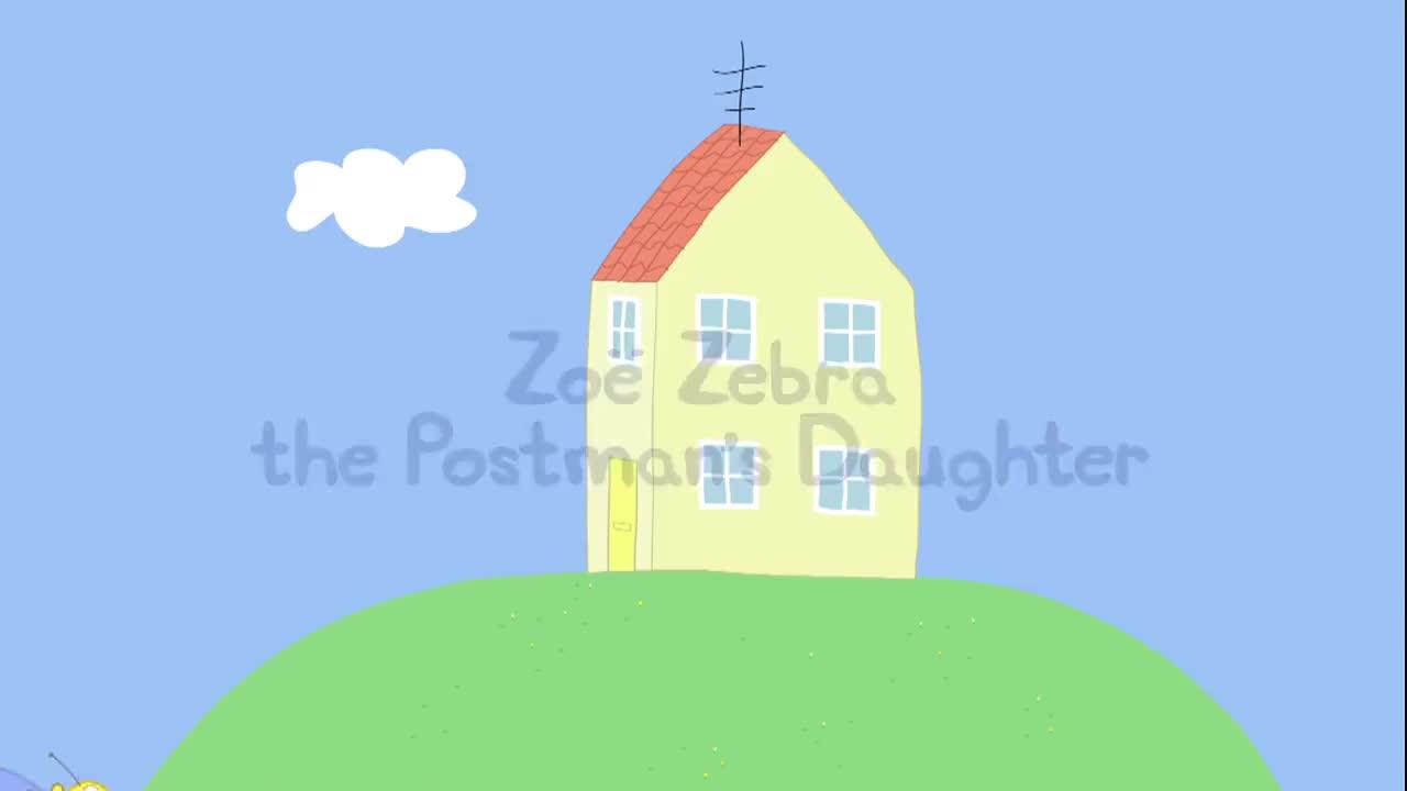 小猪佩奇:佩奇最喜欢收信了,但是佩奇太小了,还不会写回信呢!
