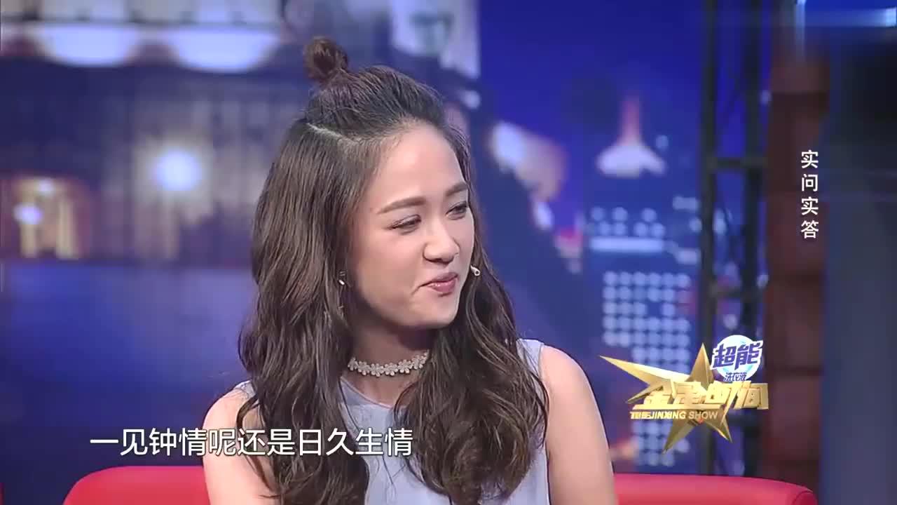 金星时间:金星问偶像剧女王陈乔恩问题,小南抢答逗乐观众