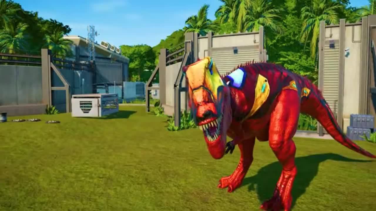 侏罗纪世界249恐龙大PK