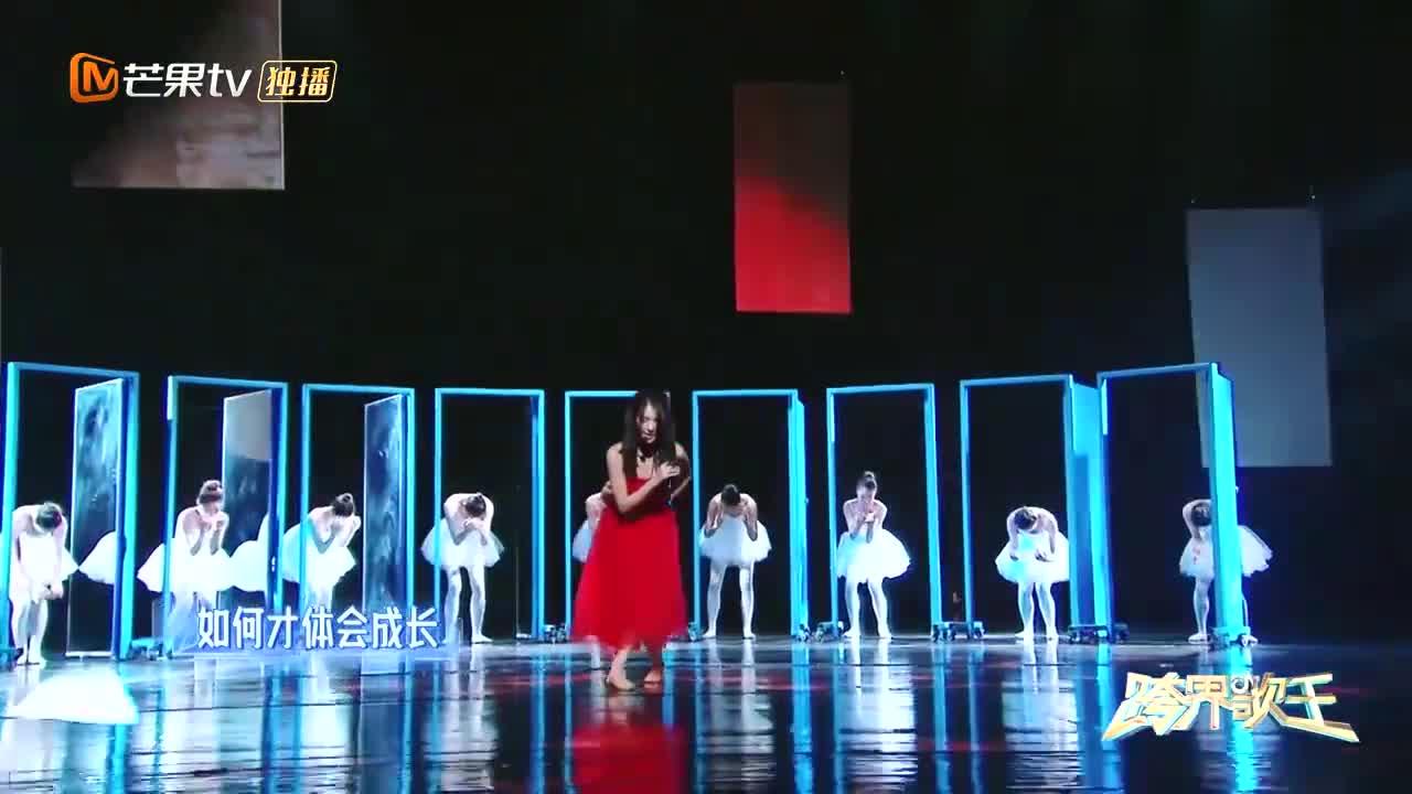 跨界歌王:继张碧晨之后,金晨又把这首主题曲唱火了,隐藏歌姬!