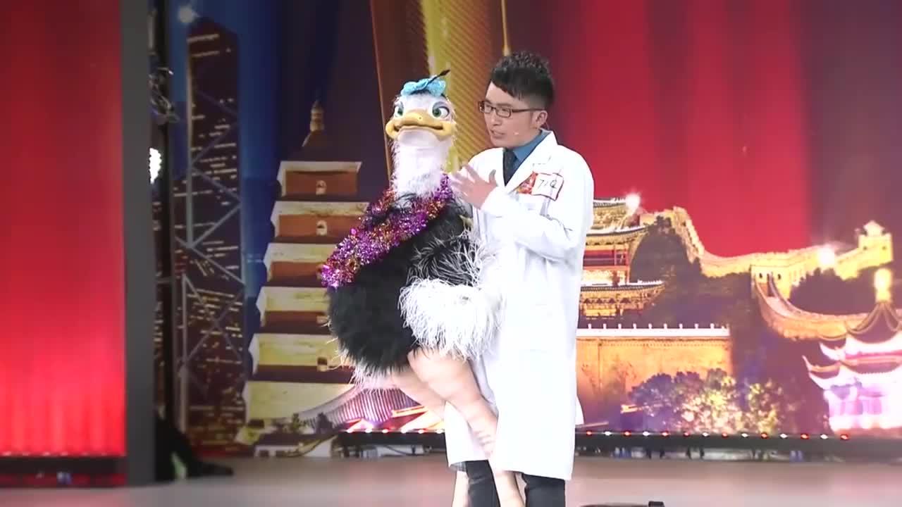 出彩中国人:小医生出彩舞台,腹语演唱365个祝福,引周立波鼓掌