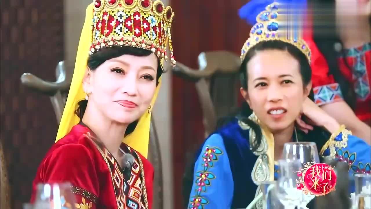 谢娜爆笑表演周星驰演戏风格,这表情简直是神同步,刘嘉玲笑喷