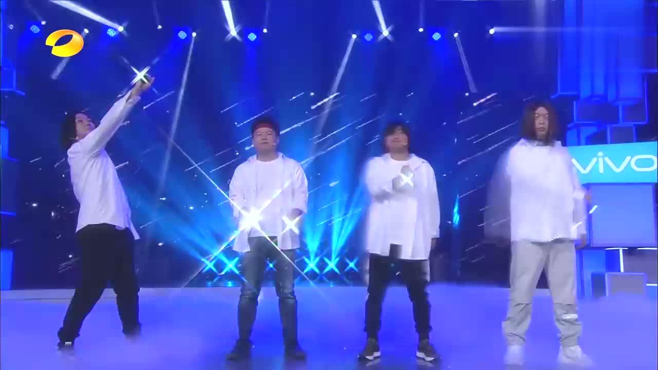 刘能、岳云鹏、海涛演绎《流星雨》,画面太过搞笑,观众笑哭了!