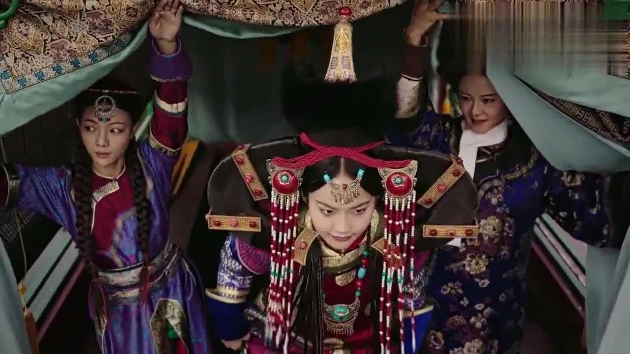 如懿传:娇俏可爱的颖嫔,整个蒙古撑腰,连说话也这么可爱!