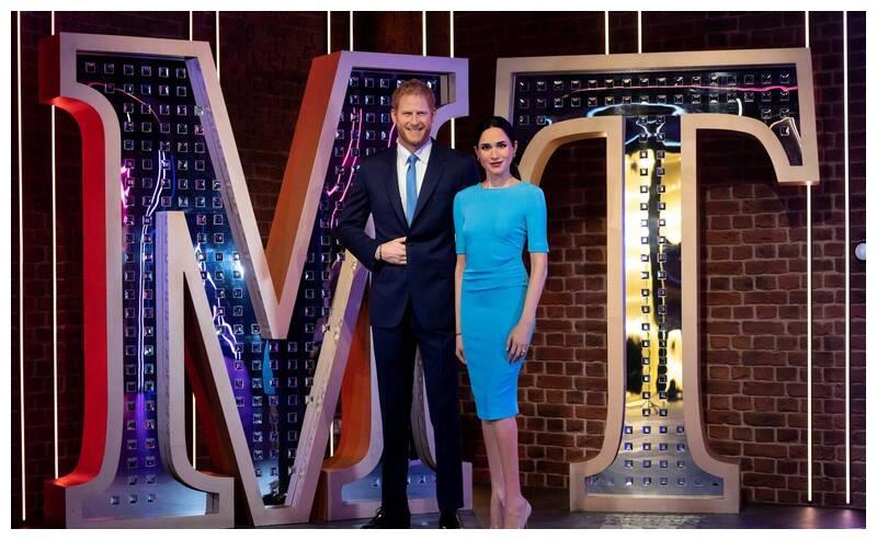 """梅根夫妇蜡像搬到""""好莱坞区"""",哈里称王室生活如""""楚门的世界"""""""