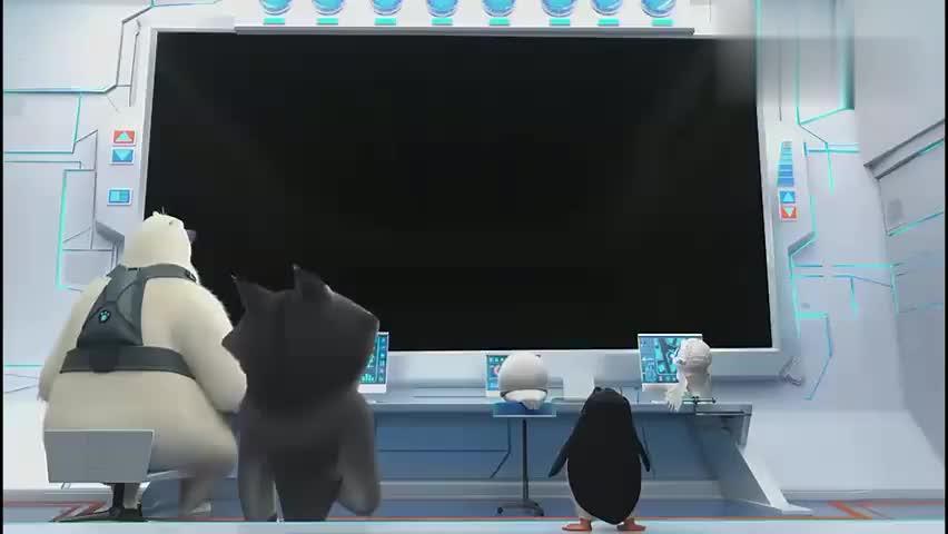 马达加斯加的企鹅:企鹅们真是太闹腾了,狗狗烦都快烦死了