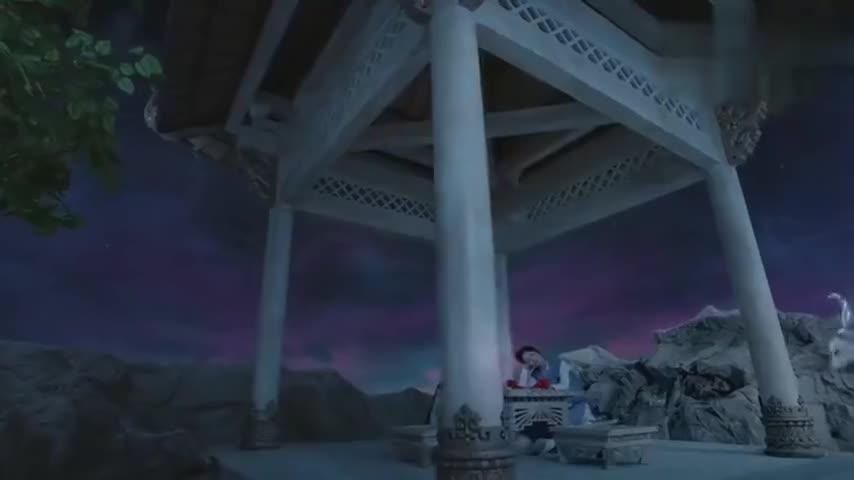 锦觅睡着,魇兽吃了锦觅的梦境,月下仙人太逗了!