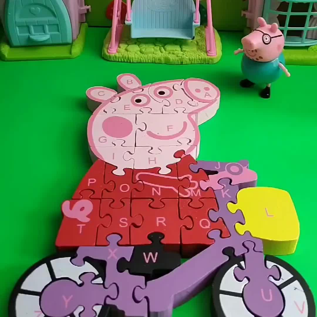 猪爸爸以为佩奇出去玩了把佩奇画像拆开猪爸爸这样做对吗