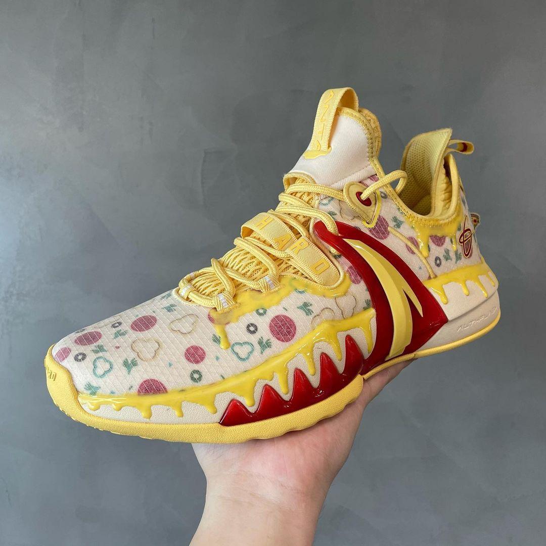 国产鞋颜值担当,安踏海沃德二代 GH2「披萨」首曝光!