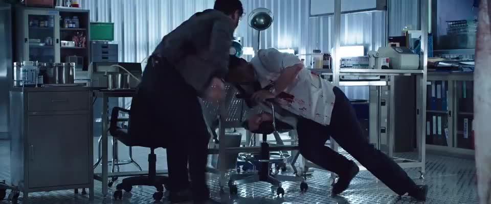 老牌动作影星吴越,泰国血战黑帮头子,这段荷尔蒙激素飙升!