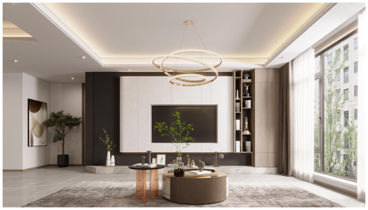 赢咖3注册首页 大连装修 打造三种轻奢风格的客厅设计