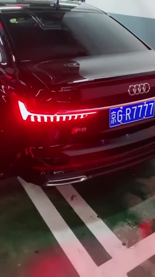 视频:国产红旗H9偶遇奥迪A6L,不愧是最霸气的国产车!