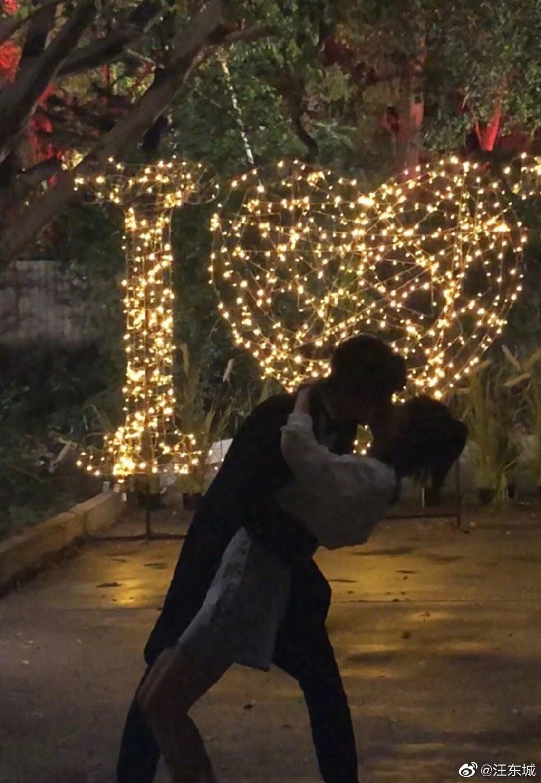 和炎亚纶兄弟变陌路人,汪东城官宣恋情?和女友甜吻又过愚人节?