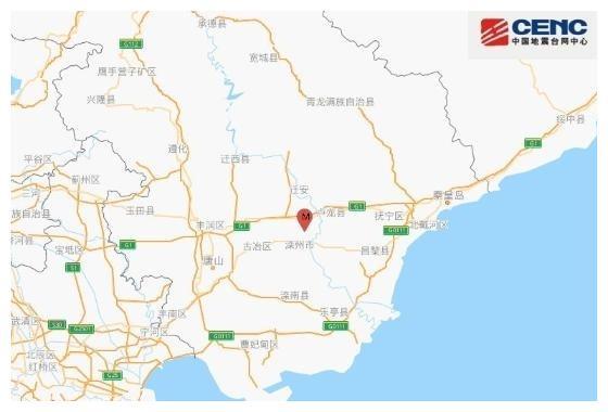 河北唐山滦州市发生3.0级地震,震源深度11千米