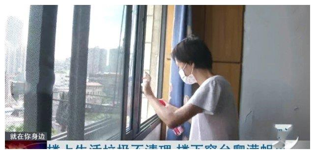 武汉女子家中蛆虫不断 仔细观察后才发现 根源在楼上