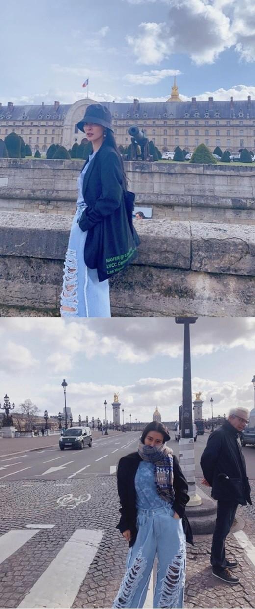 皇甫惠贞不戴口罩去法国旅行?令粉丝们担忧
