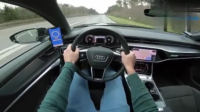 视频:奥迪A63.0V6,加速测试,结果还满意