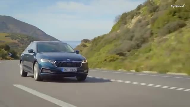 视频:2020款斯柯达Octavia,颜值高空间大