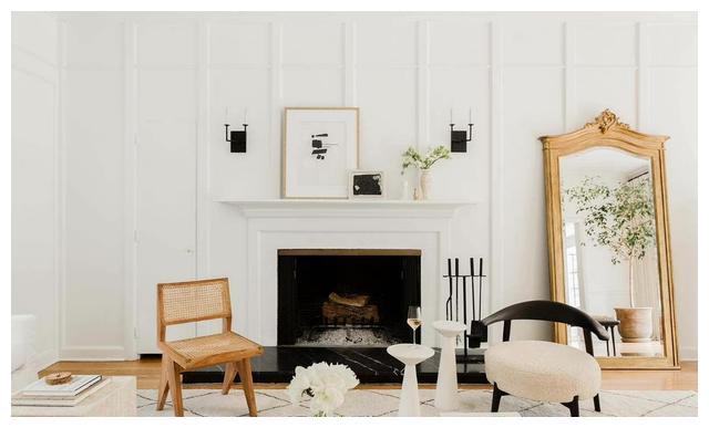 复古轻法式住宅,简洁线条,优雅米色调,这样的住宅才叫温柔