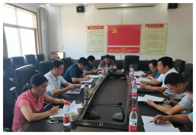 陕西洛南县科教体局积极开展灾后重建工作