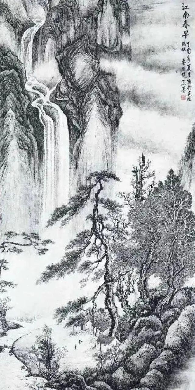 技法为绘画根基,国画中的三大技法形式,你知道多少?
