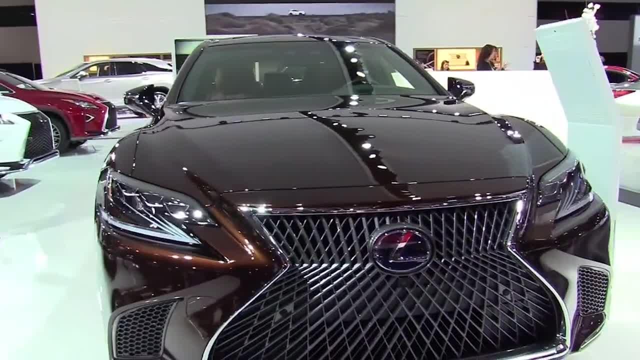 视频:豪华轿跑雷克萨斯LS500,3.5升引擎5.4秒破百叫板奔驰