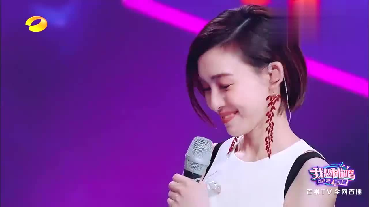 歌迷用京剧唱范玮琪的歌,下秒汪涵就学会了,连兰花指都摆出来了
