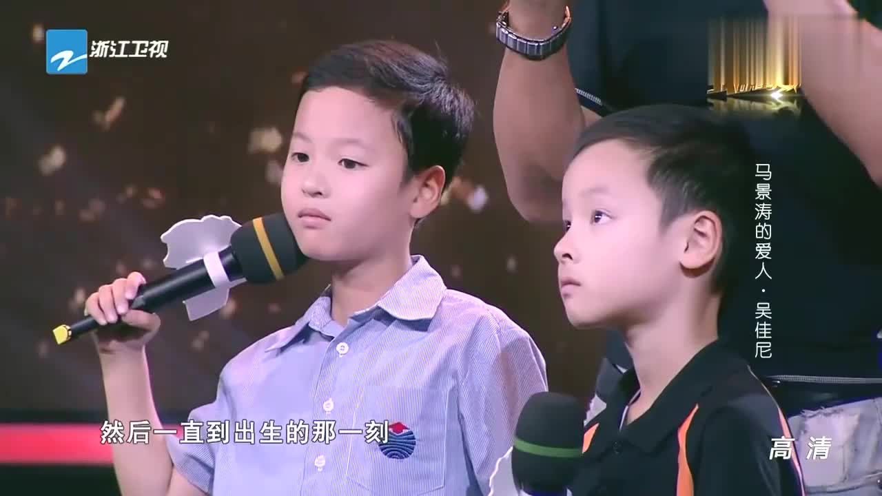 我不是明星:马景涛竟用猪大肠练习剪脐带,妻子吴佳尼一脸无奈