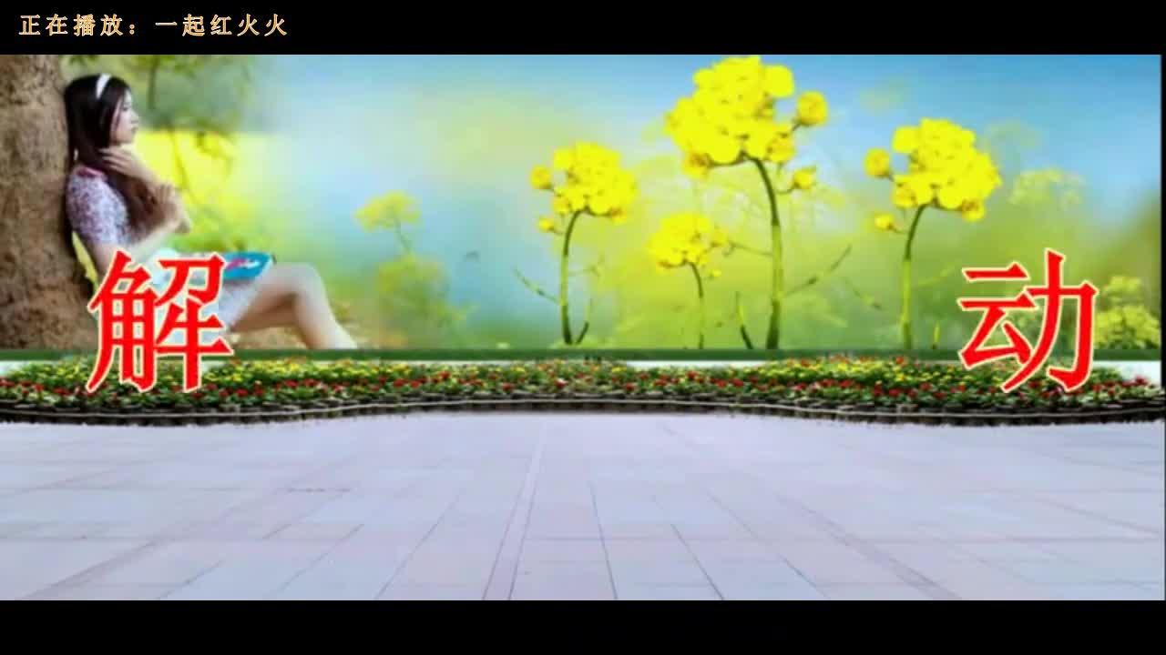 动感广场舞《一起红火火》《独爱一枝花》