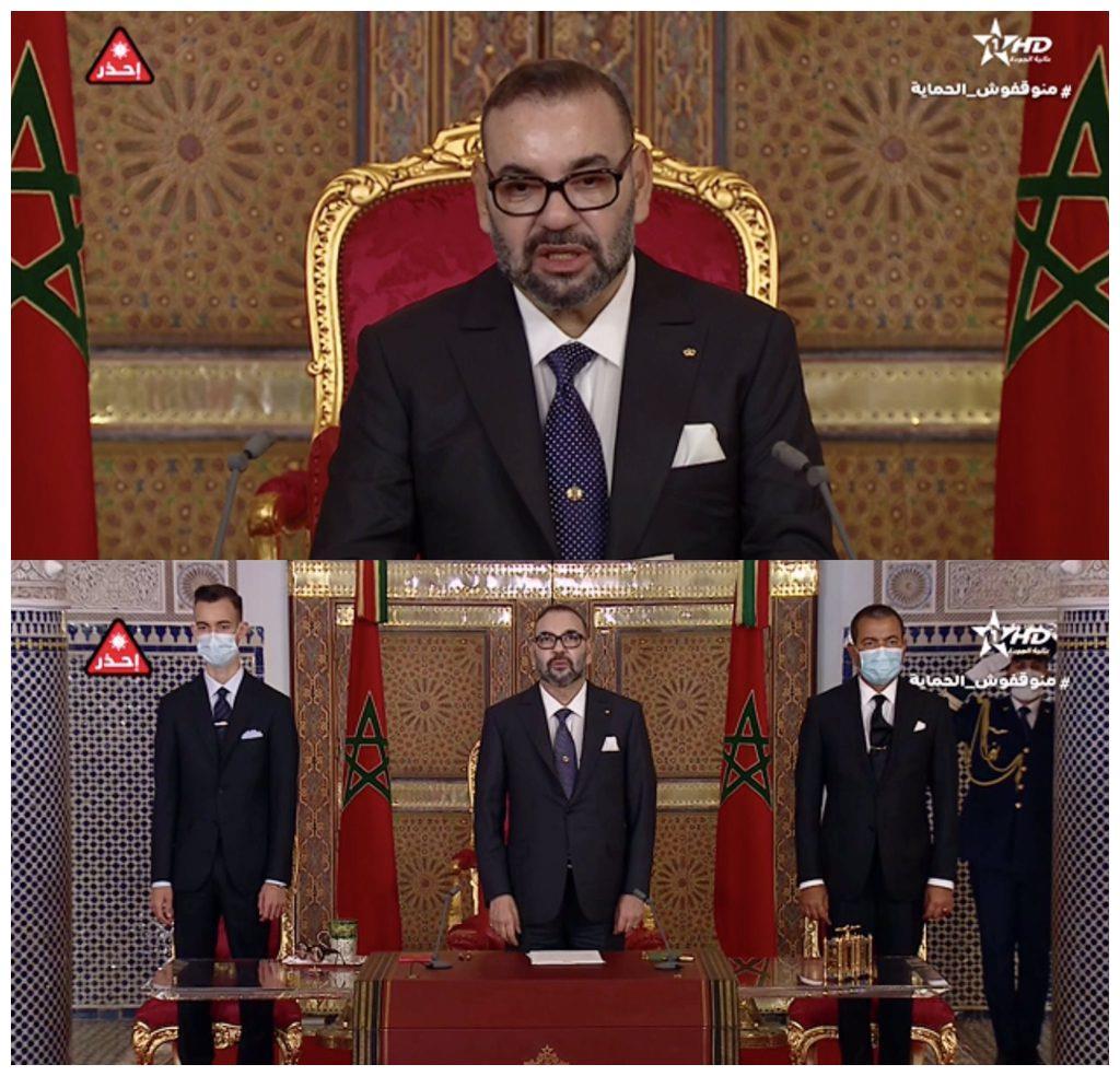 摩洛哥有多少人口_摩洛哥国王身形消瘦引发热议,没有萨尔玛的一家三口过得并