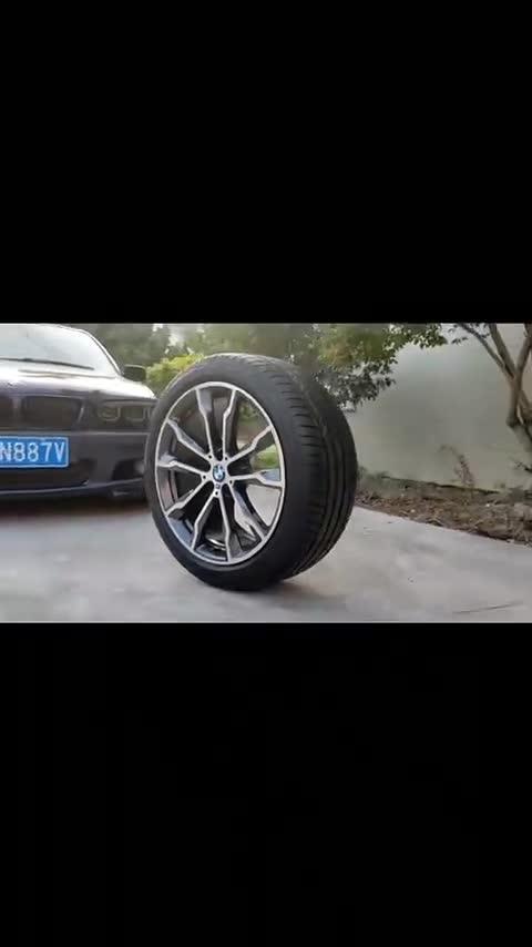 视频:宝马X3699M轮毂20寸1234567系x1x2x3x4x5x6x7