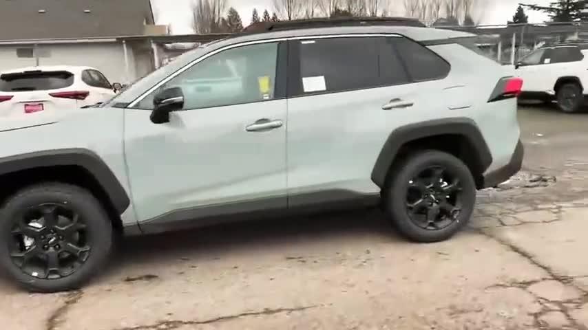 视频:新款丰田荣放Rav4到店,四驱高配版,拉开车门我是太心动了