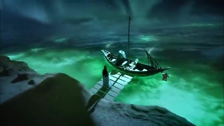 香蜜:锦觅来忘川寻找旭凤的元灵,船夫却告诉她旭凤元神早没了