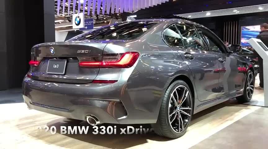 视频:新车展示,2020款宝马3系330i,了解完实车,我忘记了奥迪A6!