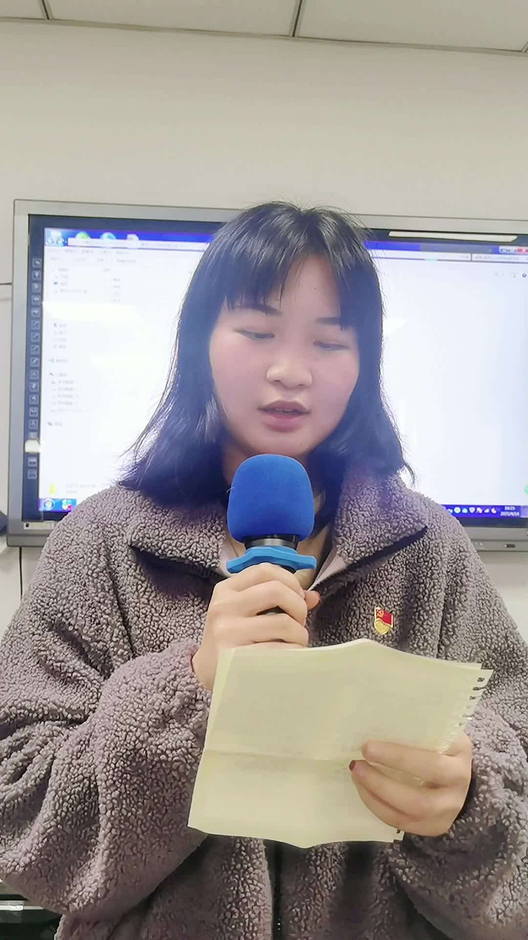 安徽合肥:大学生朗读《少年》