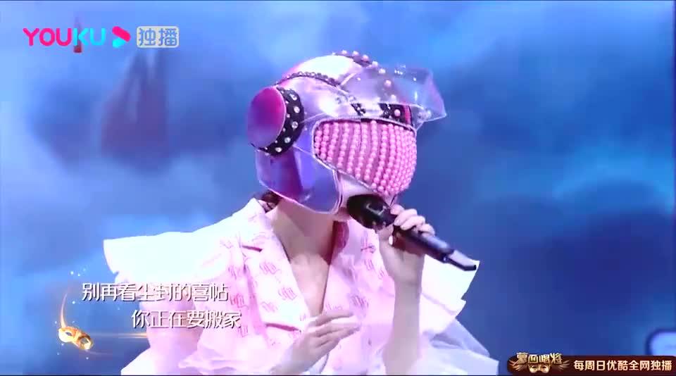 蒙面唱将:汪小敏神仙独唱《喜帖街》,唱的太动听,全场掌声不断
