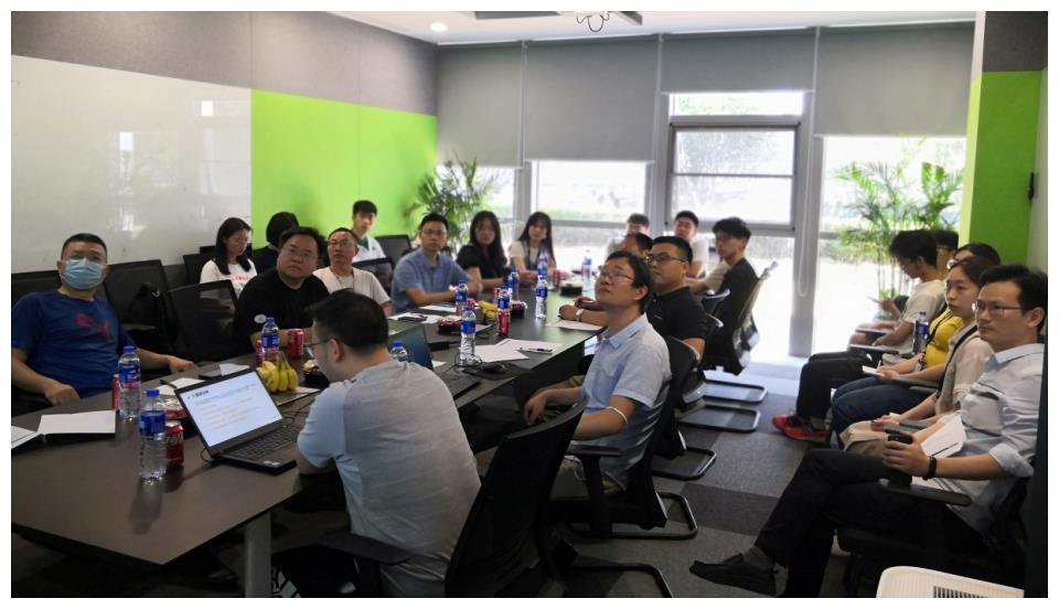 华中科技大学网络空间安全学院陈凯副院长一行莅临绿盟科技参观