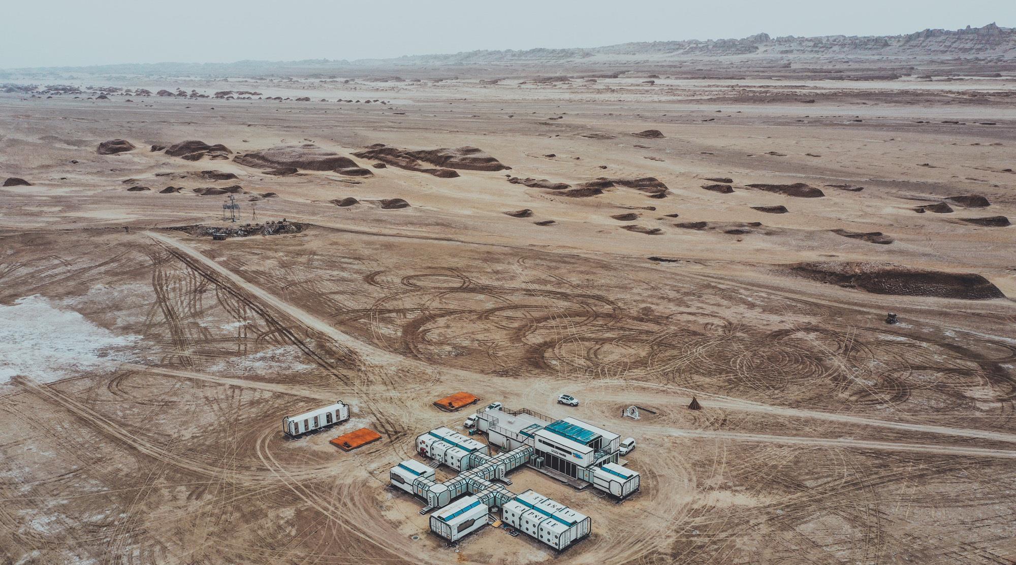 火星营地,青甘大环线不容错过之处,被称为是最不像地球的地方!