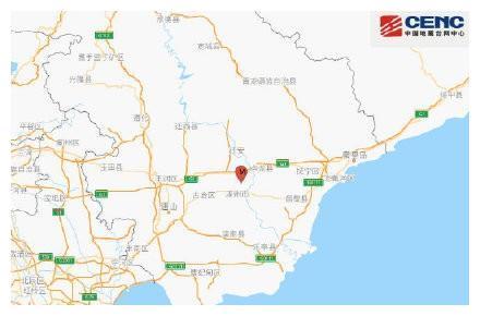 唐山滦州市发生3.0级地震