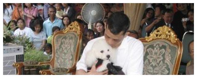 拉玛十世是真龙天子,连宠物狗都会用泰国式匍匐跪拜他