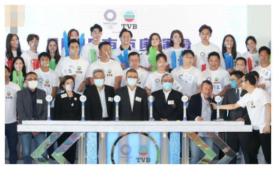 曾志伟率领27艺员为奥运造势,姚子羚、邓佩仪首做奥运主持!